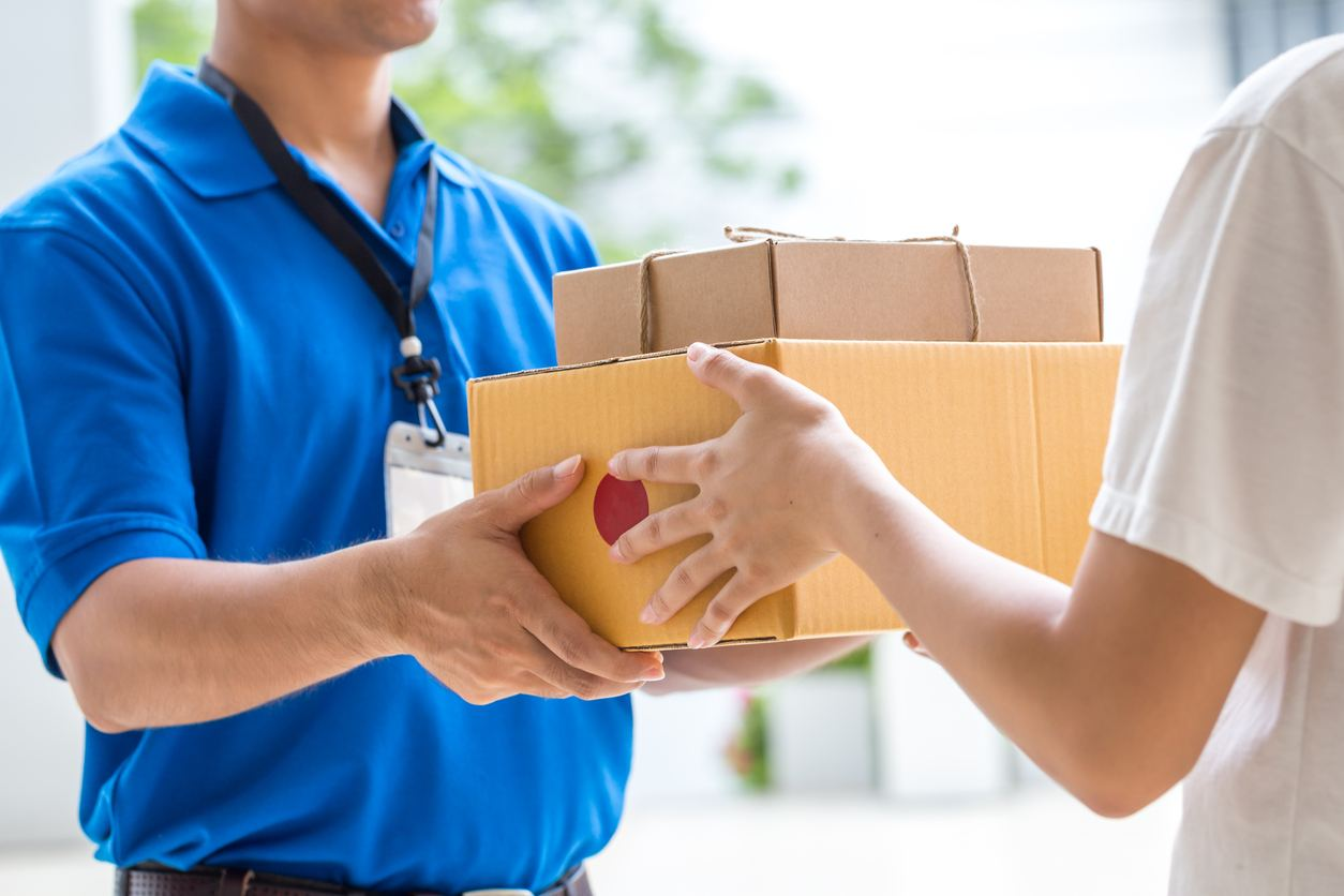 What are the steps for international express delivery to foreign countries